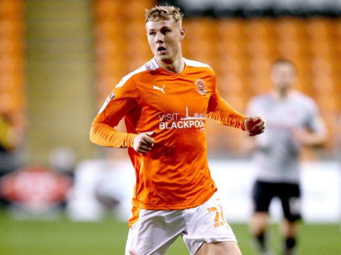 Dan Ballard could return for Blackpool (Nigel French/PA)