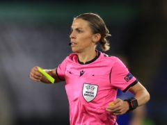 Stephanie Frappart will become the first woman to officiate at a men's European Championships this summer (Mike Egerton/PA)