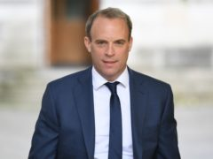 Foreign Secretary Dominic Raab has condemned Russia's 'malign behaviour' (Stefan Rousseau/PA)