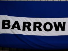 Barrow are nine points clear of relegation but taking nothing for granted (Zac Goodwin/PA)