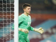 Nick Pope has missed Burnley's last two matches with a shoulder injury (Dave Thompson/PA)