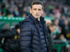 Jack Ross wants to win the Scottish Cup (Steve Welsh/PA)