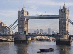 Tower Bridge in London (Ian West/PA)