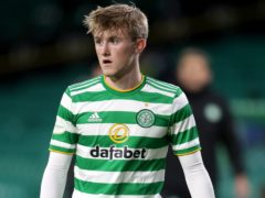 Celtic loanee Ewan Henderson was on target (Andrew Milligan/PA)