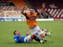 Motherwell's Tony Watt is touch and go (Andrew Milligan/PA)