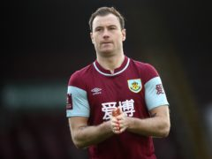 Ashley Barnes is close to a return for Burnley (Tim Goode/PA)
