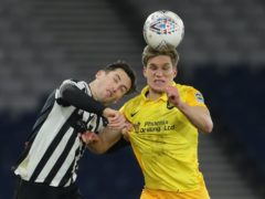 St Mirren's Conor McCarthy (left) aims to get back to Hampden (Jane Barlow/PA)