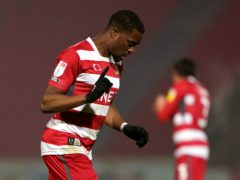 Fejiri Okenabirhie was on target for Doncaster (Zac Goodwin/PA)