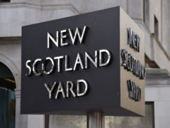 The Metropolitan Police has apologised for some of the practices used by undercover officers (Kirsty O'Connor/PA)