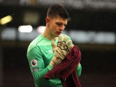 England goalkeeper Nick Pope remains an injury doubt for Burnley (Molly Darlington/PA)