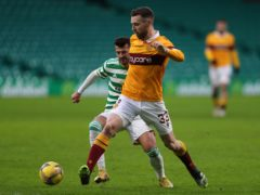 Stephen O'Donnell is close to a new Motherwell deal (Jane Barlow/PA)