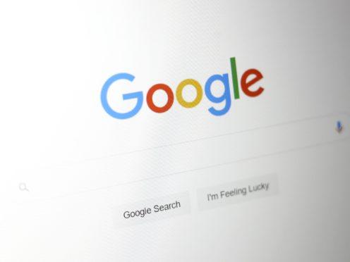Google (Tim Goode/PA)