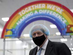 Prime Minister Boris Johnson (Scott Heppell/PA)