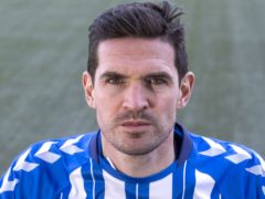 Kyle Lafferty scored a hat-trick for Kilmarnock (Jeff Holmes/PA)