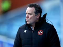 Micky Mellon made seven changes at Rugby Park (Jane Barlow/PA)