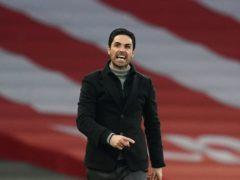 Arsenal manager Mikel Arteta still believes his side can make the Europa League semi-finals (John Walton/PA)