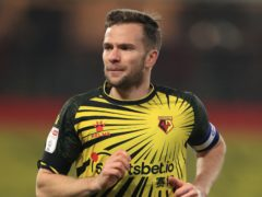 Watford midfielder Tom Cleverley has been sidelined by a knee issue (Mike Egerton/PA)
