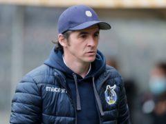 Bristol Rovers manager Joey Barton (Richard Sellers/PA)