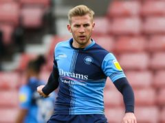 Jason McCarthy was among the scorers for Wycombe (Barrington Coombs/PA)