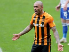 Josh Magennis will look to start as Hull take on Northampton (Richard Sellers/PA)