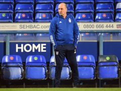 Ipswich manager Paul Cook saw his side held by bottom side Rochdale (Joe Giddens/PA).