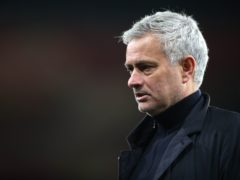 Jose Mourinho is hoping for twists and turns in the race for Champions League qualification (Nick Potts/PA)