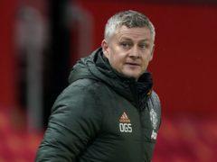 Ole Gunnar Solskjaer admits Manchester United's chances of winning the league this season are slim (Tim Keeton/PA)