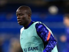 N'Golo Kante will miss Chelsea's Premier League match with West Brom (Adam Davy/PA)