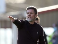 Graham Alexander's Motherwell were comfortable winners (Andrew Milligan/PA)