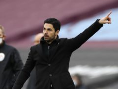 Mikel Arteta has pointed the way forward for Arsenal's European qualification bid (Paul Childs/PA)