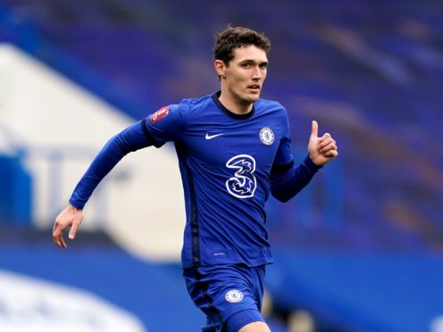 Andreas Christensen will return for Chelsea on Tuesday (John Walton/PA)