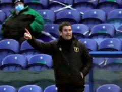 Mansfield and Nigel Clough are safe (Simon Marper/PA)