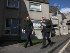 Lorna Slater and Patrick Harvie will be in Glasgow on Friday (Andrew Milligan/PA)