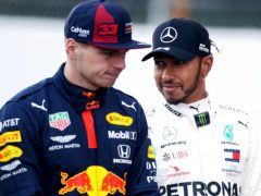 "Max Verstappen believes Lewis Hamilton's (right) dominance has been ""a bit boring"" for the sport (David Davies/PA)"