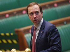Matt Hancock (UK Parliament/PA)