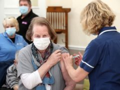 The Government has said that all over 50s in the UK have now been offered a first dose of the vaccine (Nick Potts/PA)