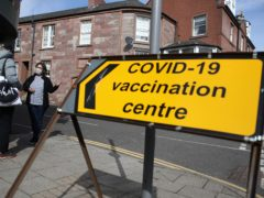 There were no new deaths from coronavirus in the last 24 hours, figures released on Monday show (Andrew Milligan/PA)