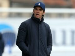 Bristol Rovers manager Joey Barton saw his side lose at Ipswich (Steven Paston/PA)