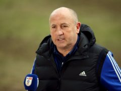 Accrington manager John Coleman (Nigel French/PA)
