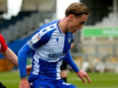 Luke McCormick starred in Bristol Rovers' win (Steven Paston/PA)