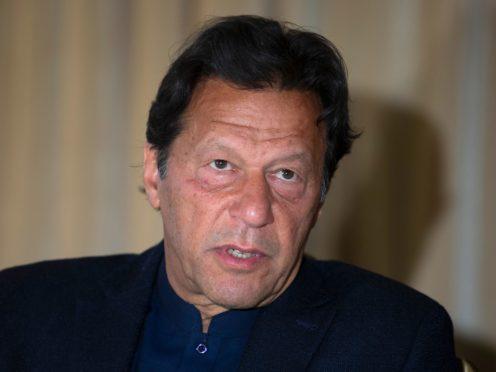 Prime Minister Imran Khan has been criticised (B.K. Bangash/AP)