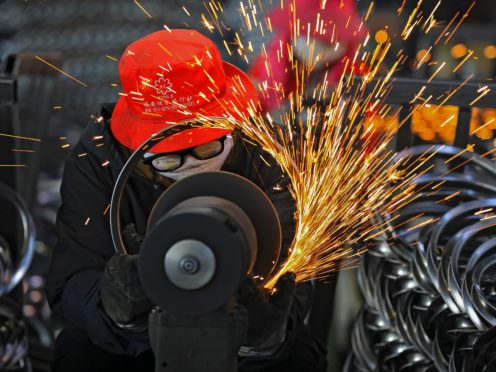 China's exports surged 30.6% in March compared to the previous year as global demand revived despite the persisting coronavirus pandemic (Chinatopix/AP)