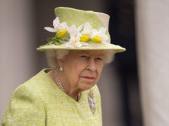 The Queen will be joined by a lady-in-waiting as she is driven to the Duke of Edinburgh's funeral, but will sit alone during the service (Steve Reigate/Daily Express/PA)