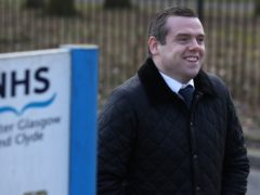 Douglas Ross said there may have to be difficult spending choices (Andrew Milligan/PA)