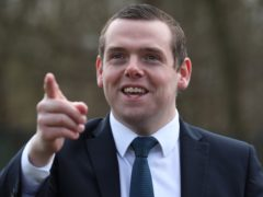 Douglas Ross said he had urged Anas Sarwar and Willie Rennie to sign up to three pledges (Andrew Milligan/PA)