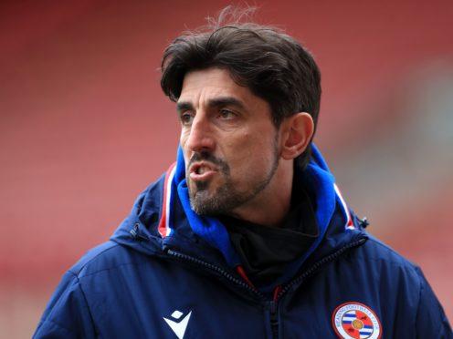 Reading manager Veljko Paunovic praised his side's display against Derby (Mike Egerton/PA).