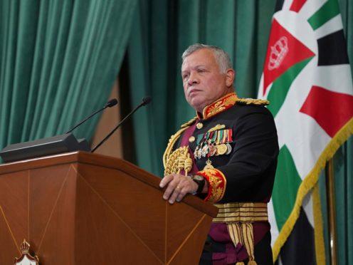 King Abdullah II of Jordan (Yousef Allan/AP)