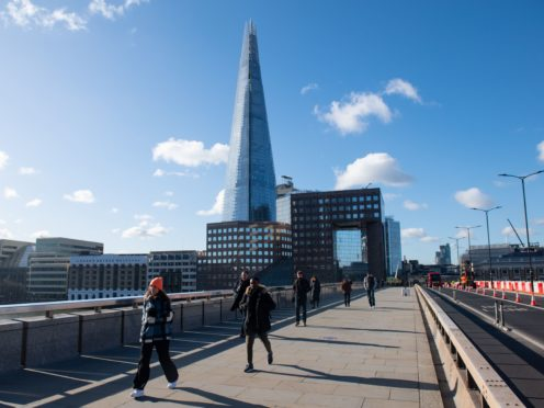 Places such as London Bridge are expected to be busier as the lockdown continues to ease (Dominic Lipinski/PA)