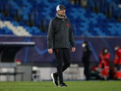 Liverpool manager Jurgen Klopp admits it will be difficult to replicate their 2019 semi-final effort without fans at Anfield (Isabel Infantes/PA)