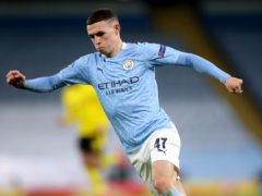 Phil Foden showed he is a main man at Manchester City with his display against Borussia Dortmund (Nick Potts/PA)